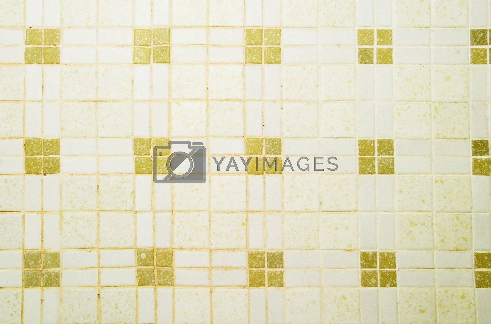 A retro ceramic tile texture image.