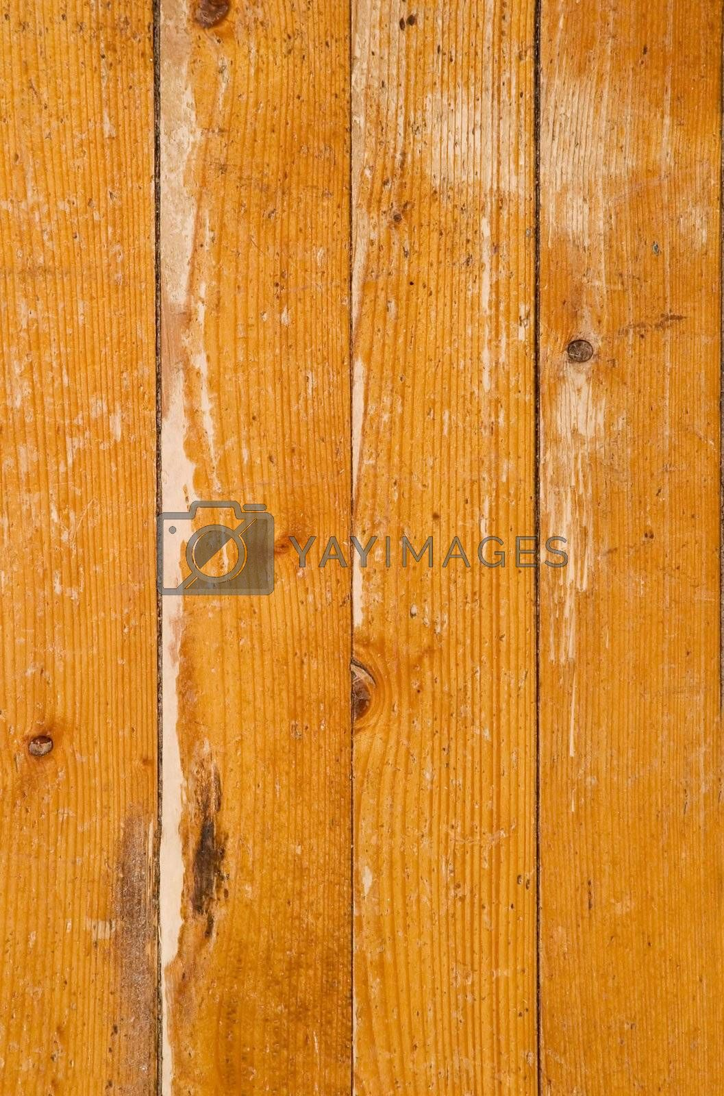 An old worn out hardwood floor texture background image