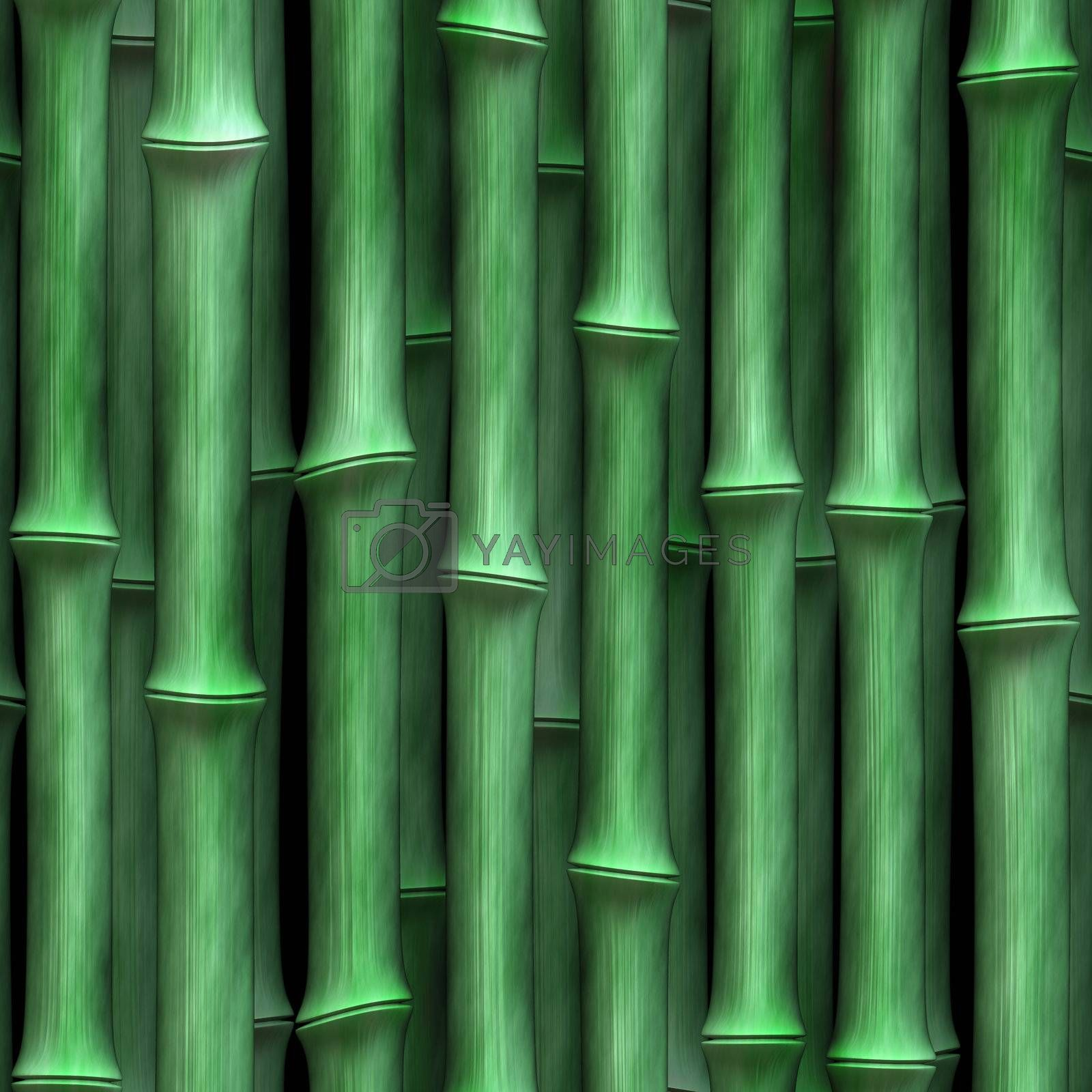 green, smooth bamboo background, tiles seamlessly