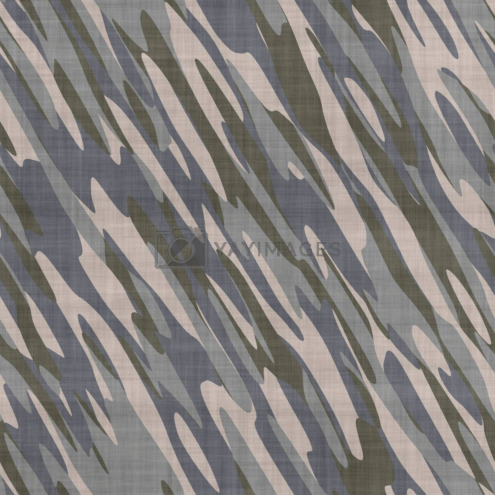 grey camouflage fabric background, seamlessly tillable