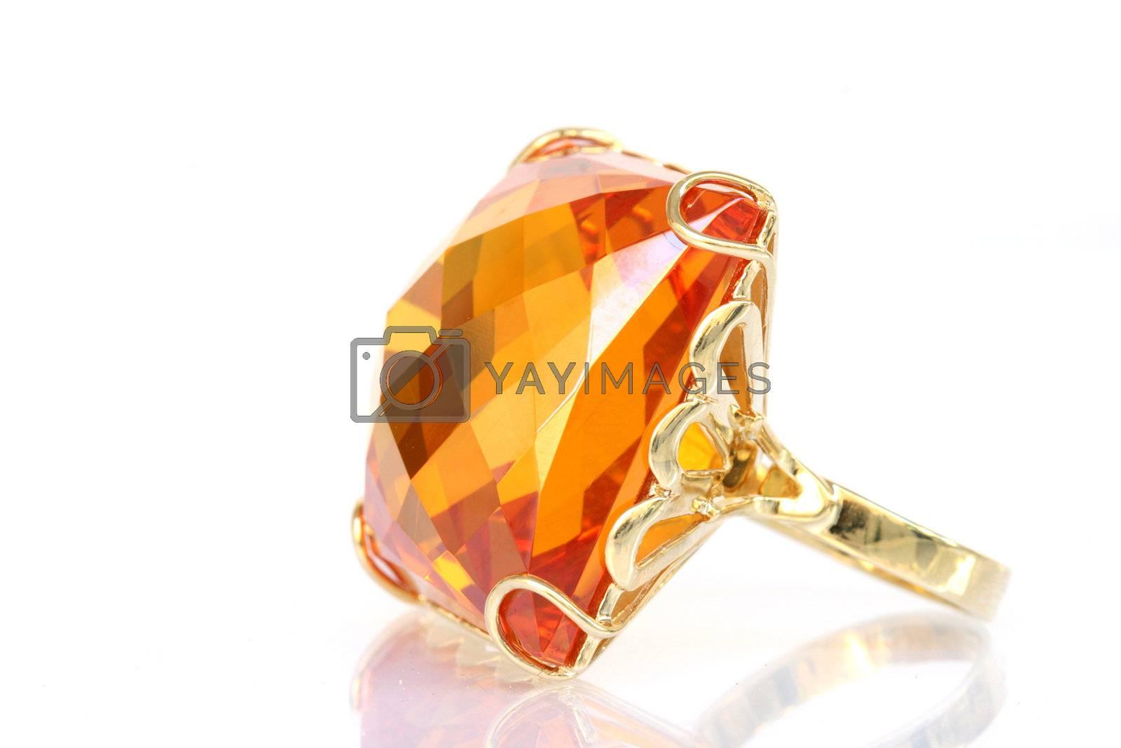 big gem ring by forwardcom