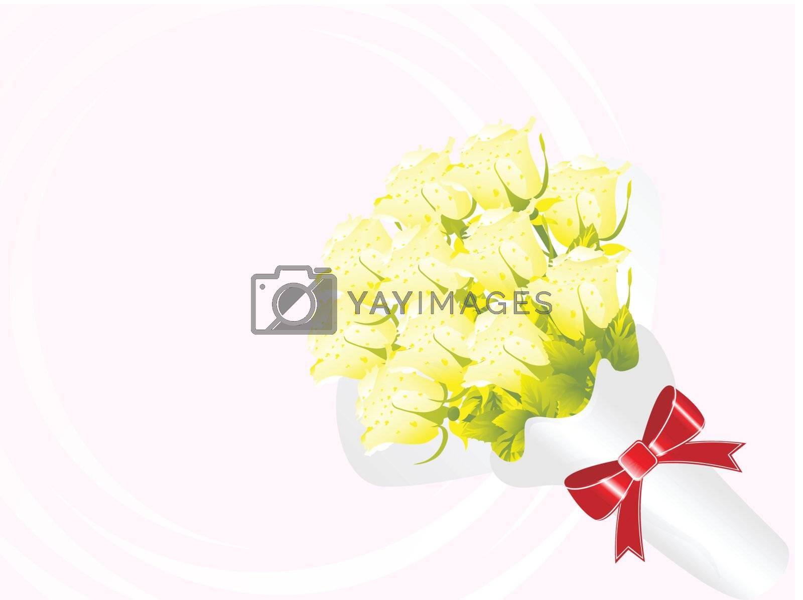 beautifull flower bouque series design8