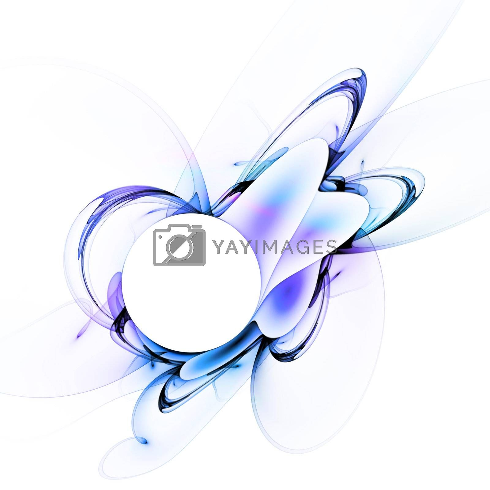 A glowing fractal design that works great as a background or layout.
