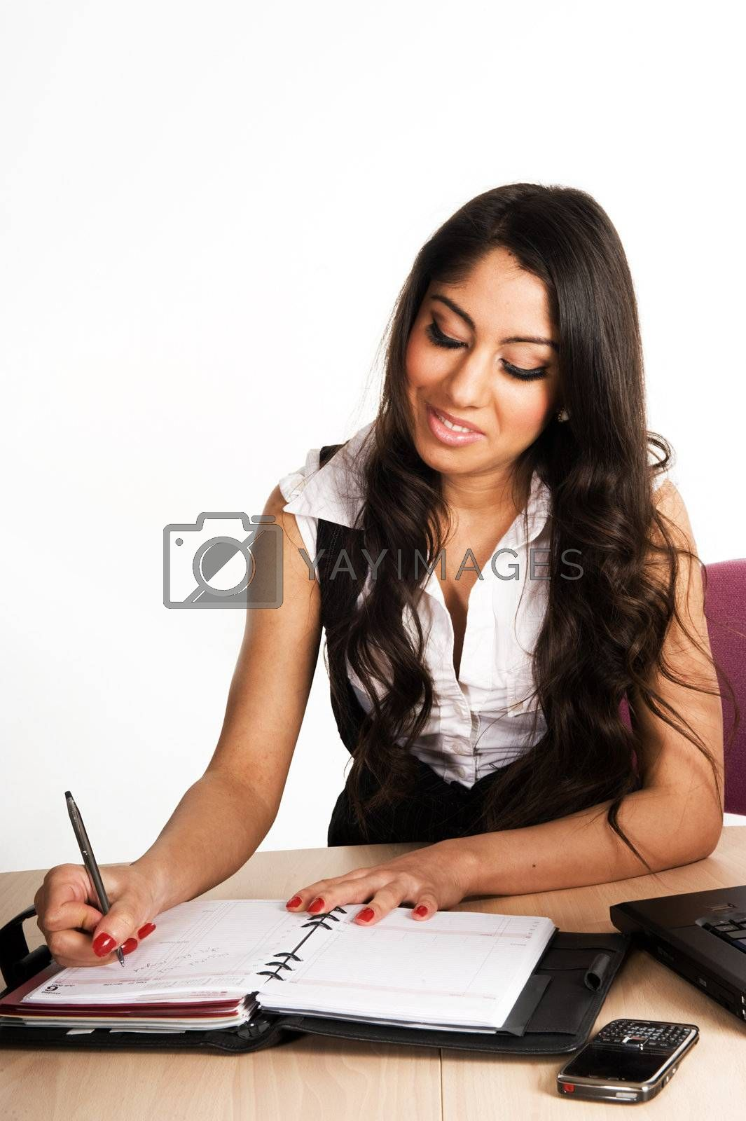 Business women working in the office