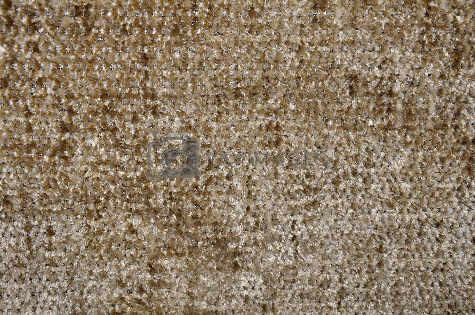 abstract closeup of a brown and tan design