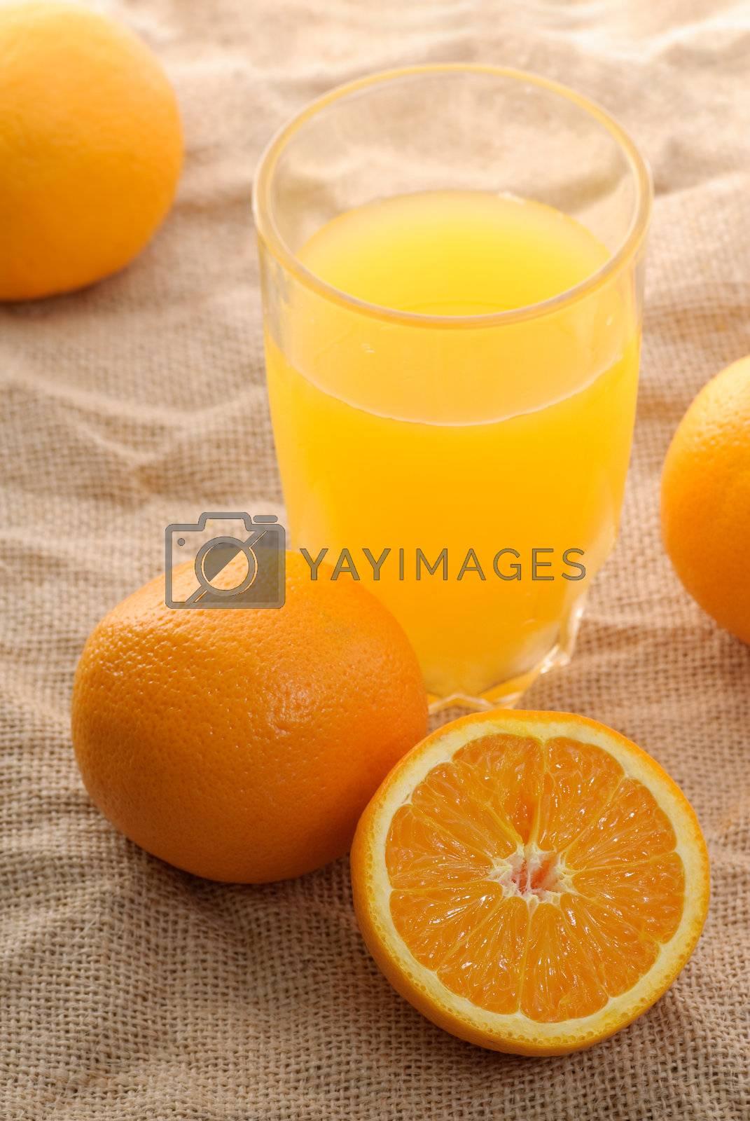Orange juice by elwynn