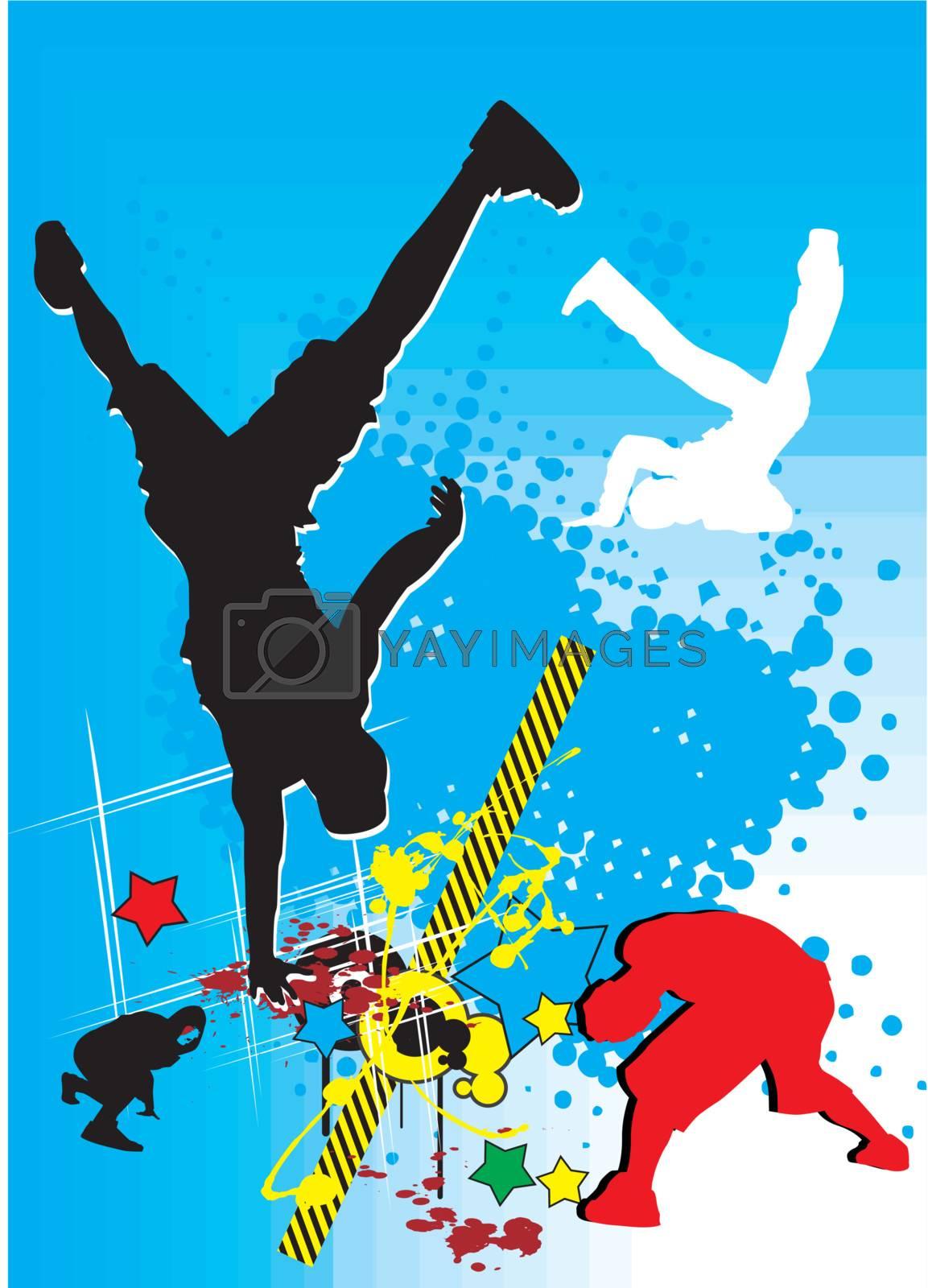 break dance by zabudailo