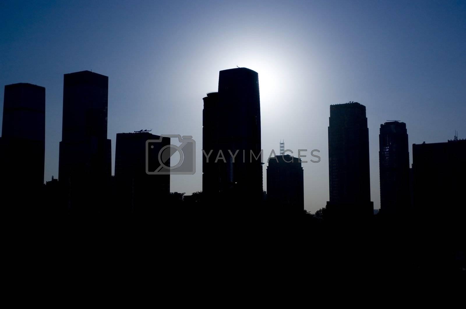 Shenzhen - cityscape by bartekchiny