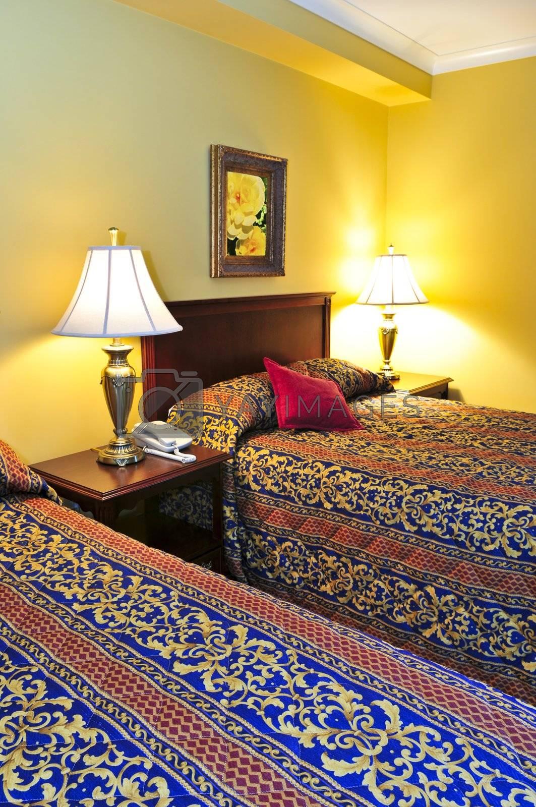 Bedroom interior by elenathewise