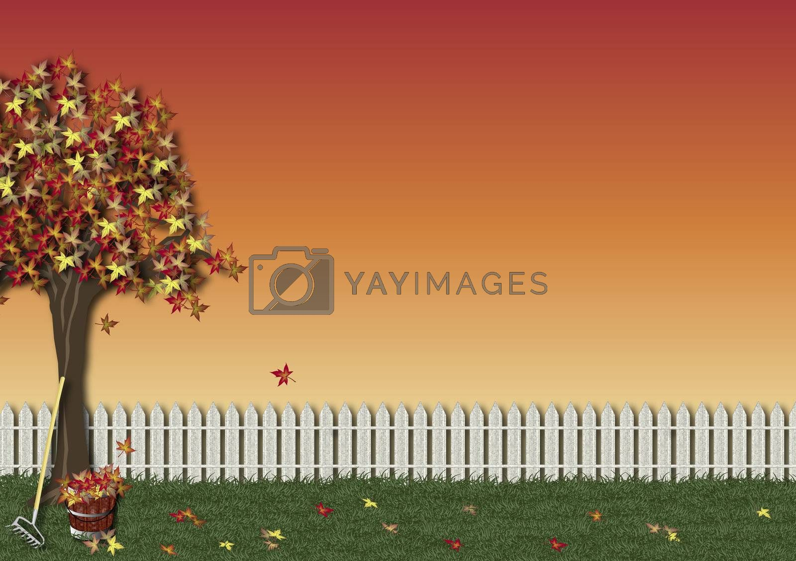 Fall Background by srnicholl