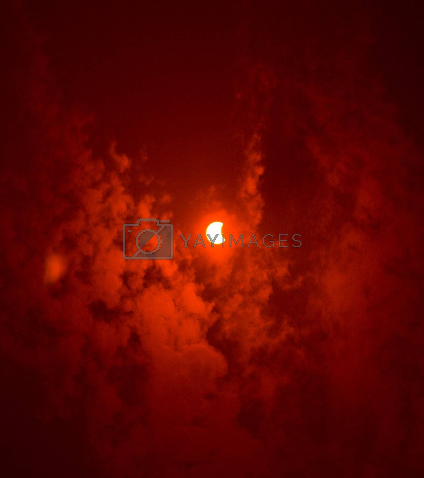 solar eclipse by Alekcey