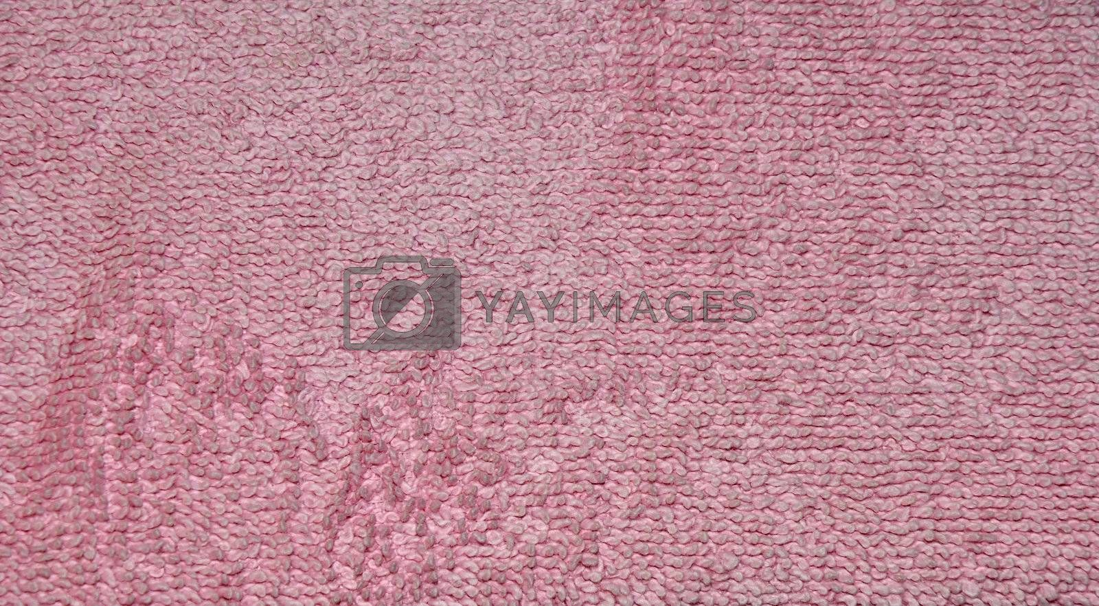 pink towel abstract by cfarmer