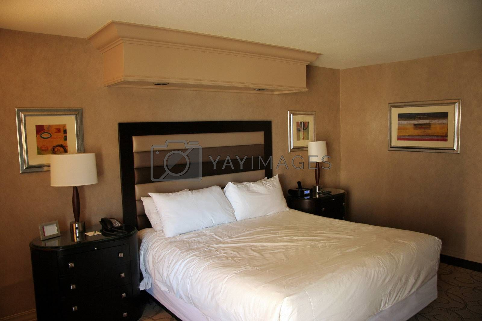 Royalty free image of Hotel Bed by Moonb007