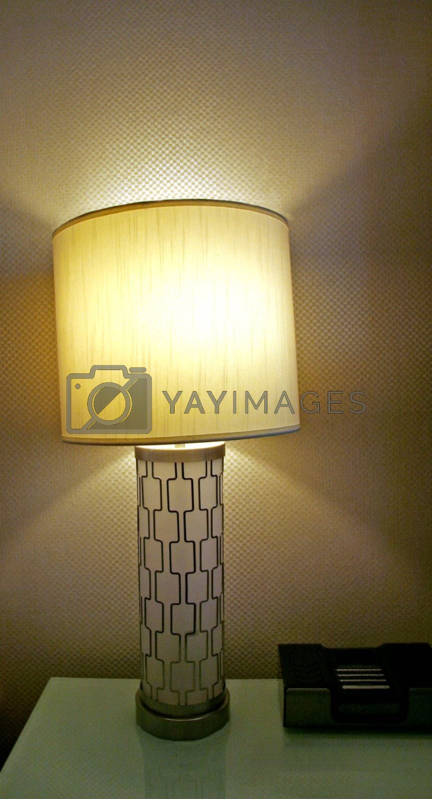 Royalty free image of Modern Light Fixture by Moonb007