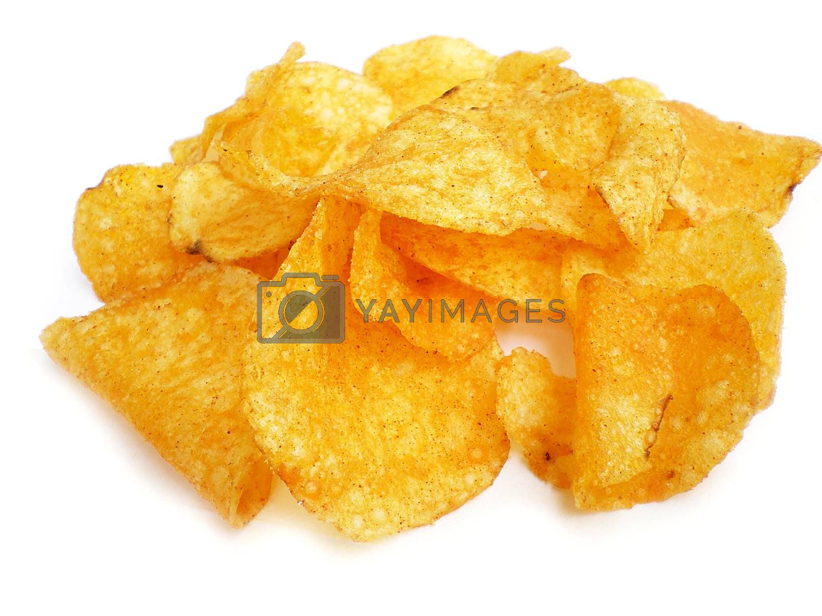 Royalty free image of chips by Dessie_bg