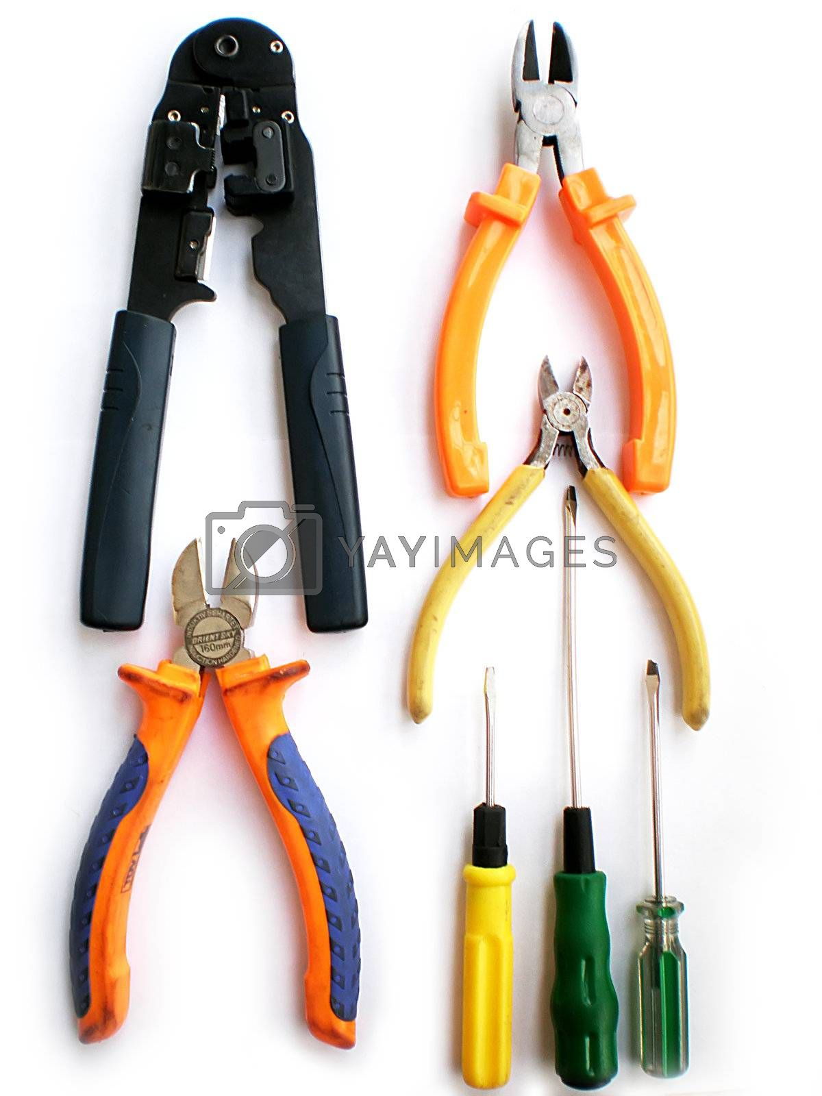 Royalty free image of pliers by Dessie_bg