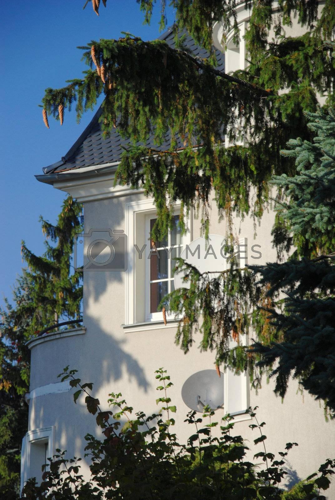 Royalty free image of New Detached House For Sale. by wojciechkozlowski