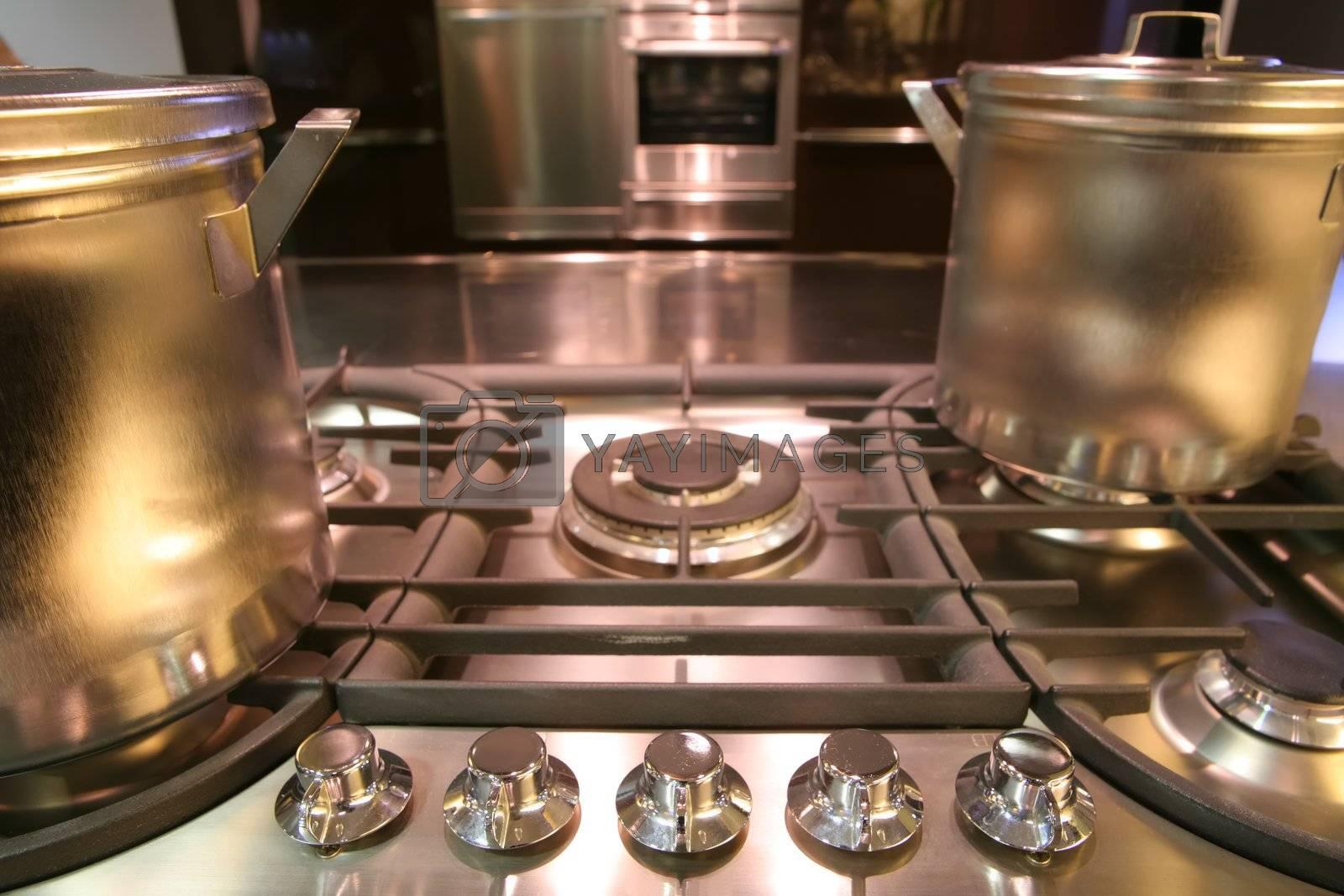 modern kitchen by Astroid