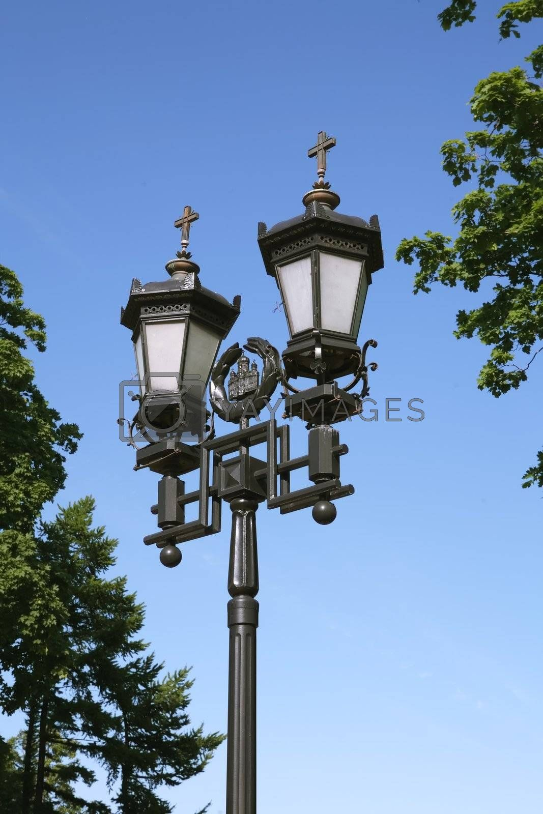 Old-time Moscow Street Lamp by Astroid