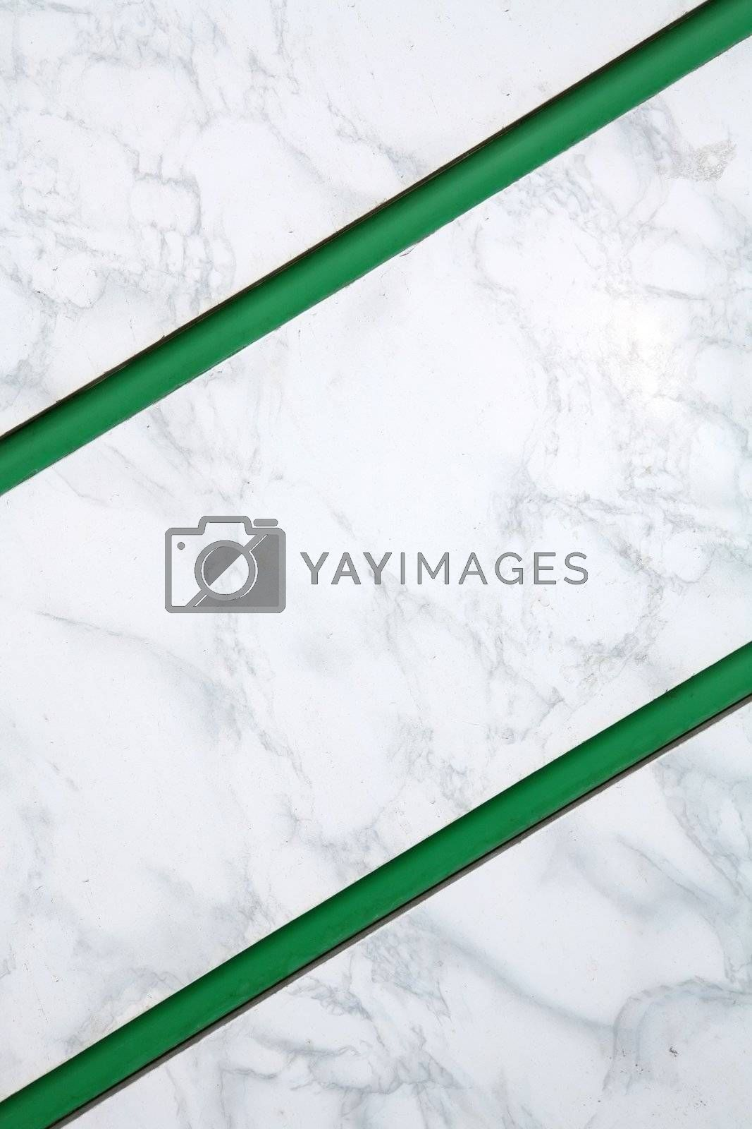 Background, Green Parallel Diagonal Strips by Astroid