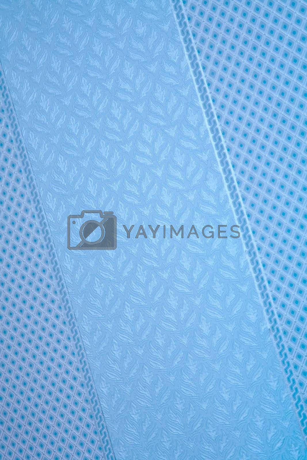 Royalty free image of drawing on blue surface by Astroid