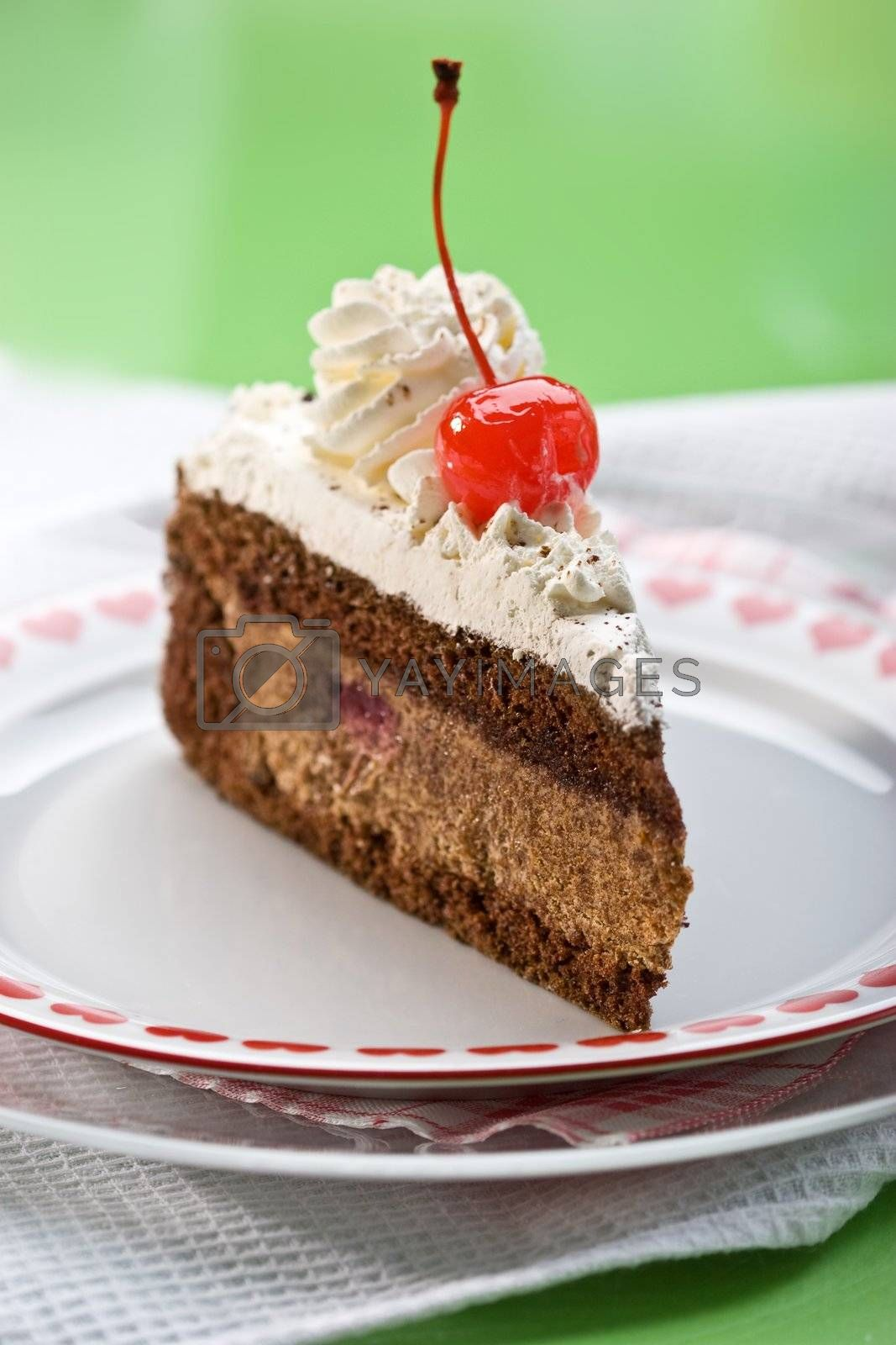 Royalty free image of chocolate cake by agg