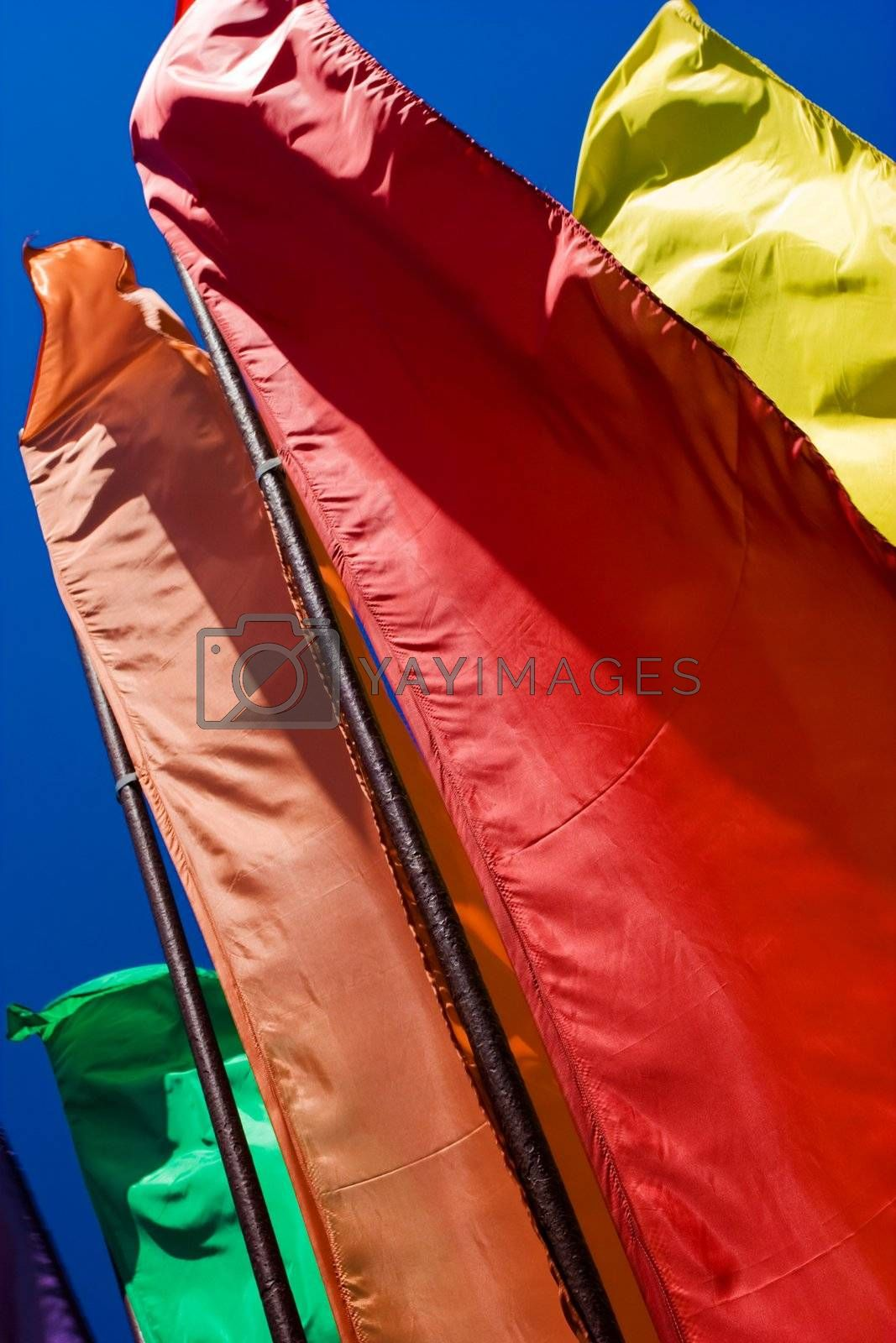 Royalty free image of flags by agg