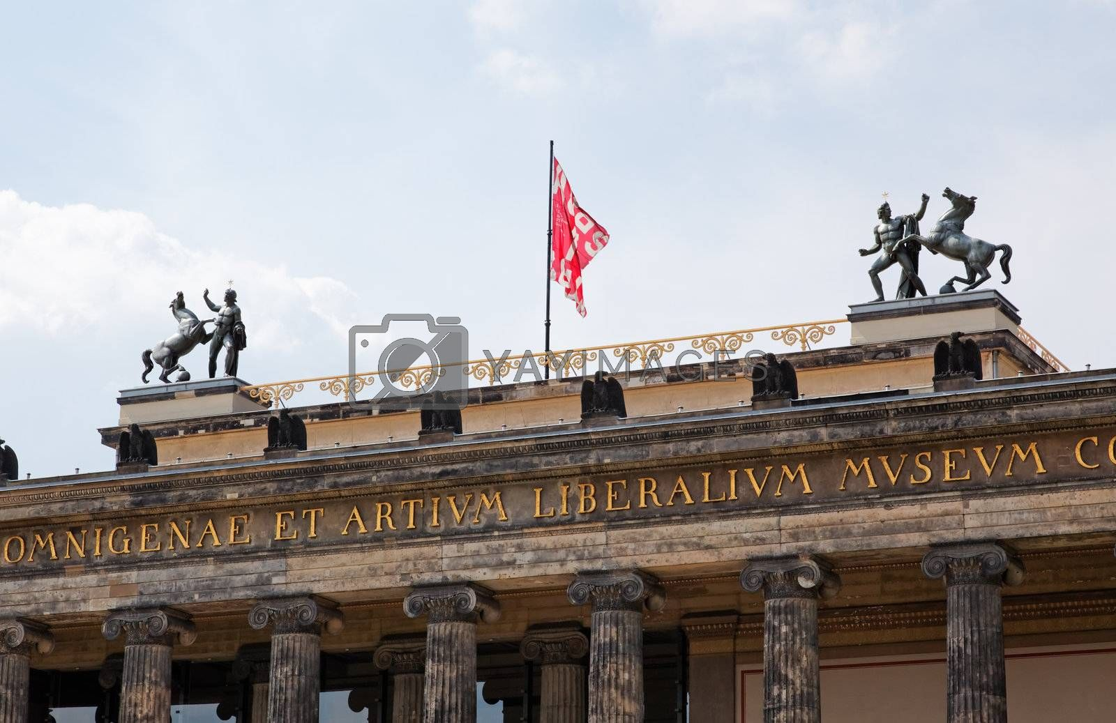 the Old Museum (Altes Museum) in Berlin, Germany