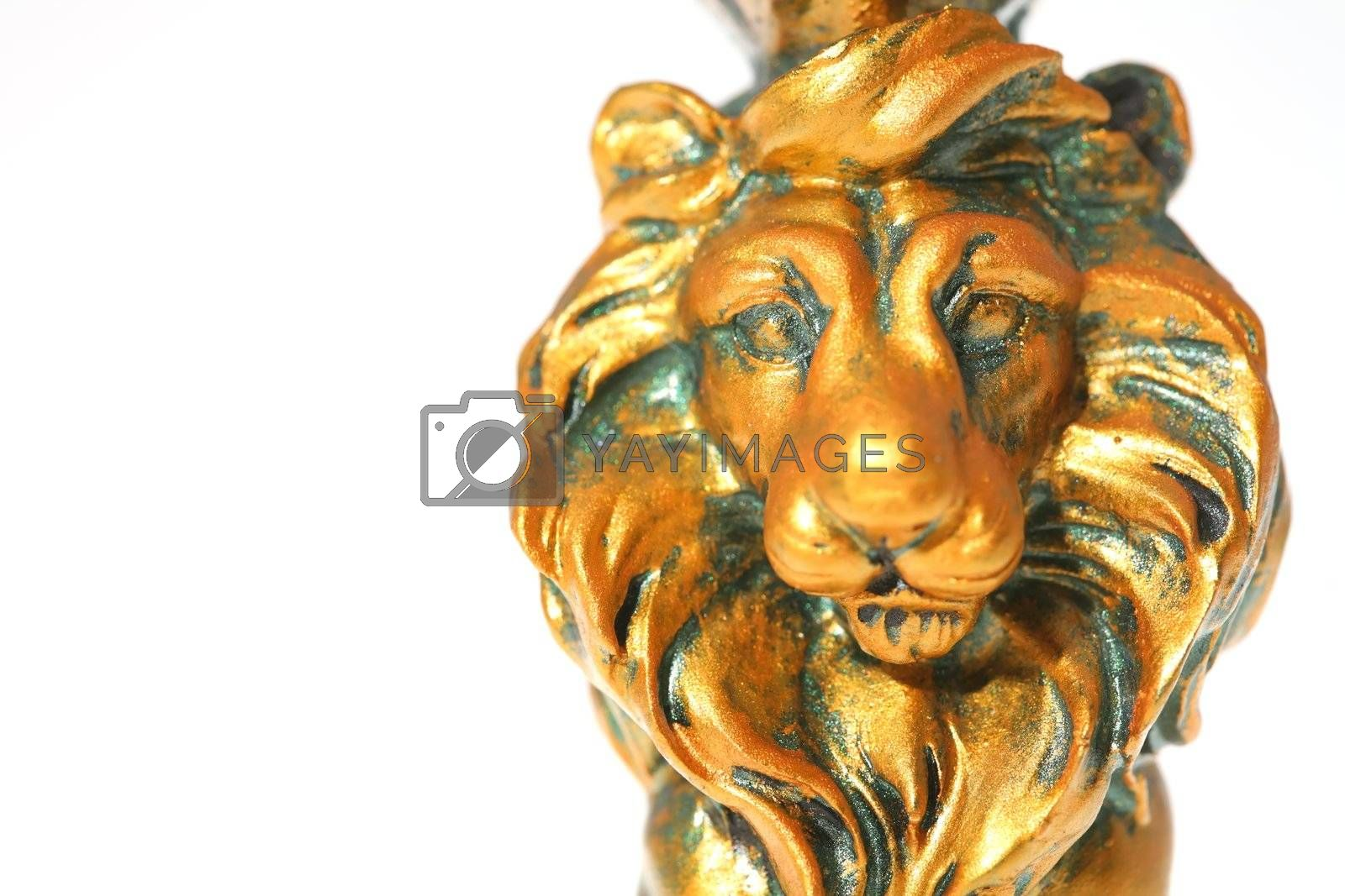 Royalty free image of Golden Lion by Astroid
