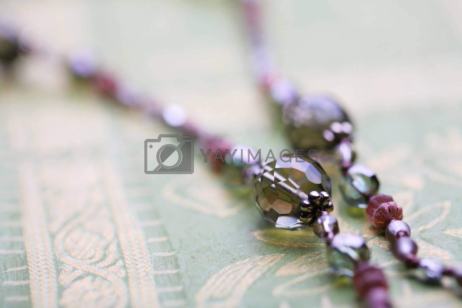 Royalty free image of Fragment of necklace by Astroid