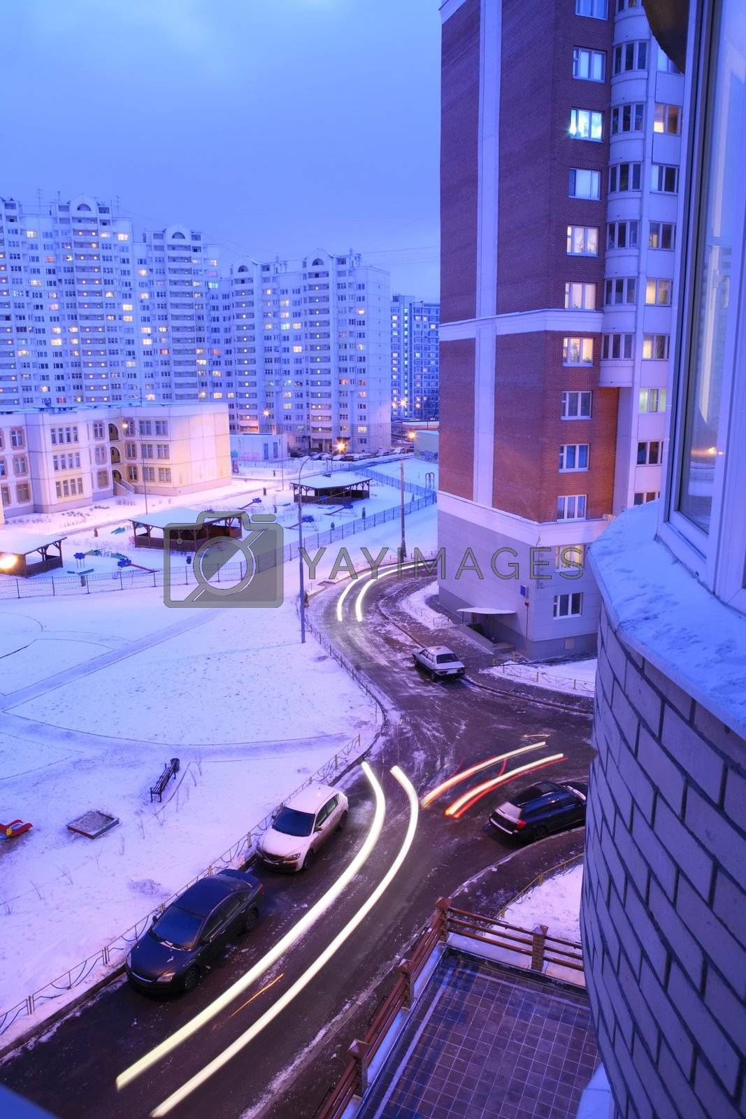 Royalty free image of Winter Moscow, Russia by Astroid