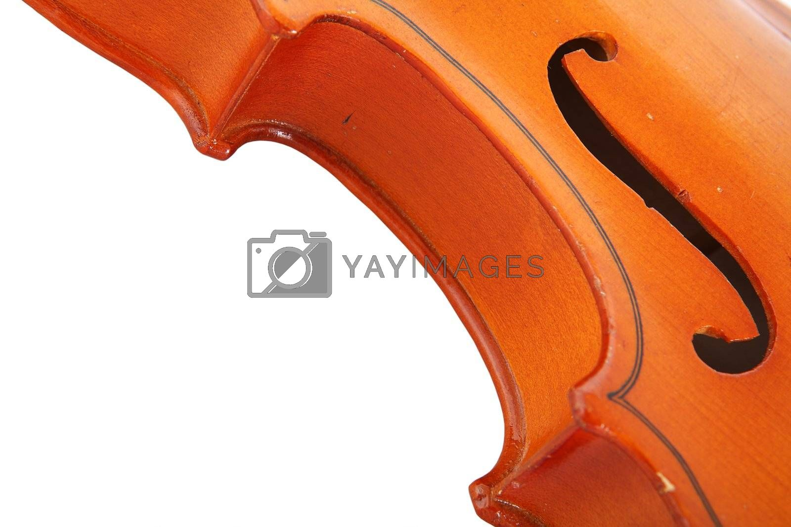 Royalty free image of Old Violin by Astroid