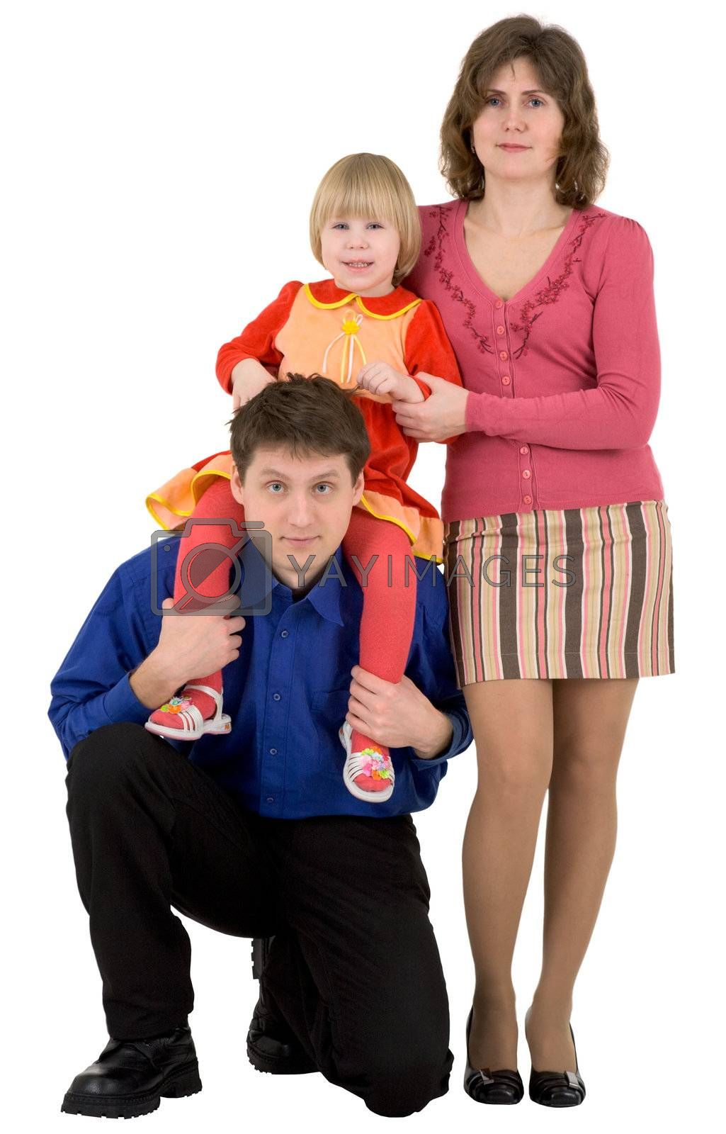Royalty free image of Family by pzaxe