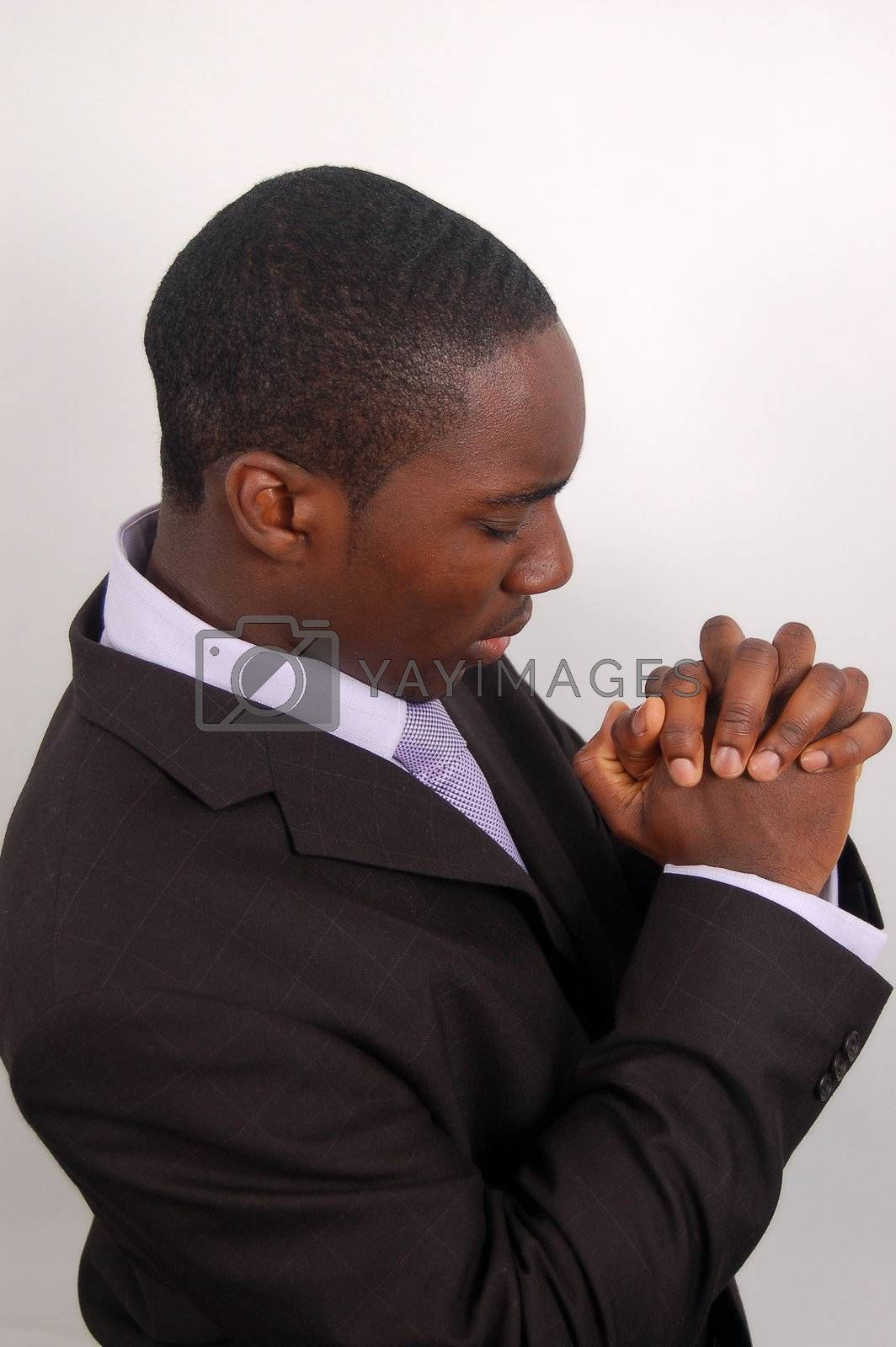 Royalty free image of Sincere Prayer by Imabase
