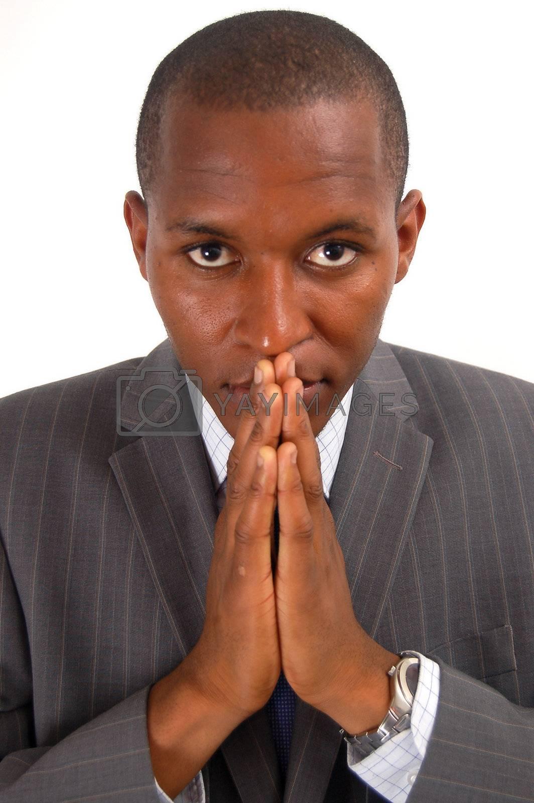 Royalty free image of Prayerful Man by Imabase