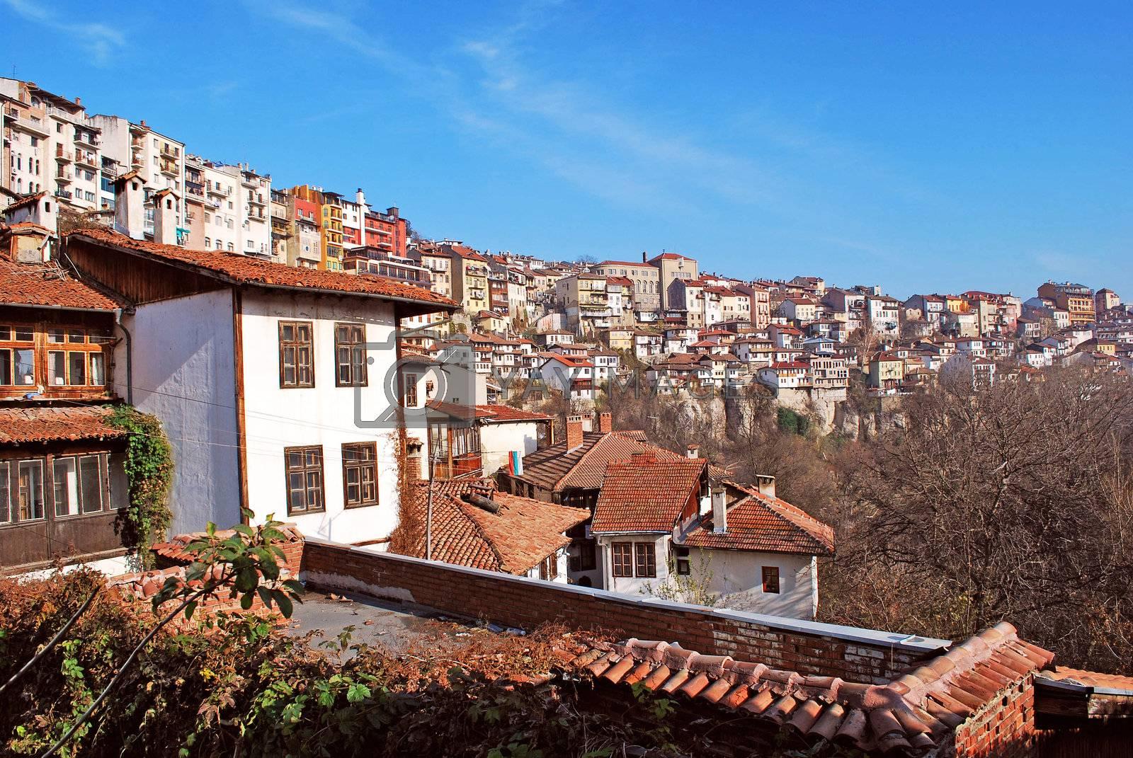 Royalty free image of city view Veliko Turnovo by Dessie_bg