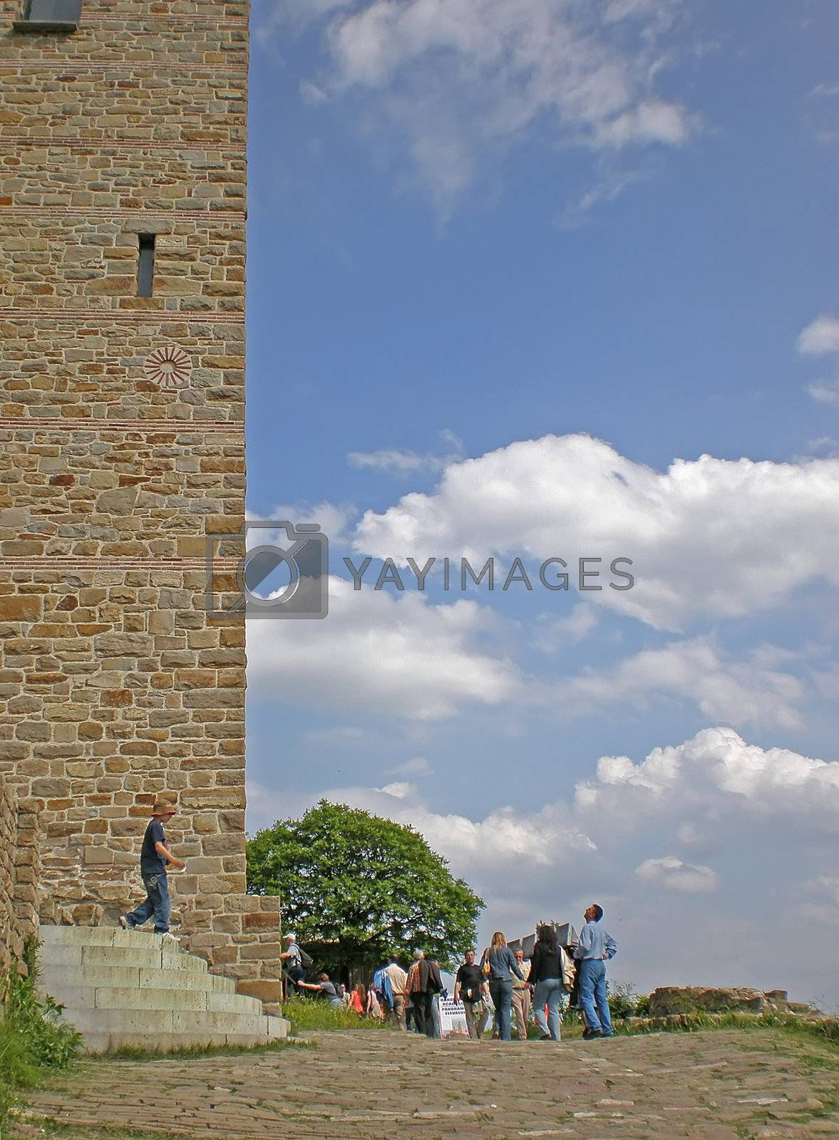 Royalty free image of church in Tsarevets fortress by Dessie_bg
