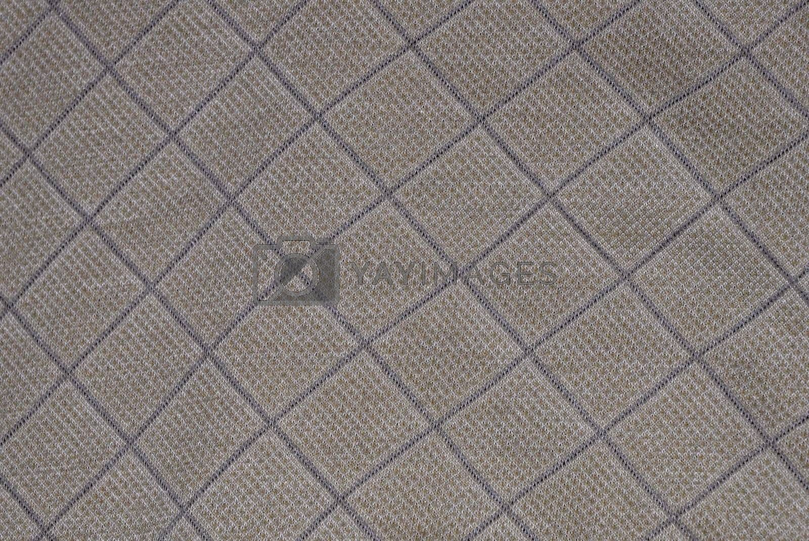 closeup view of a tan square abstract texture