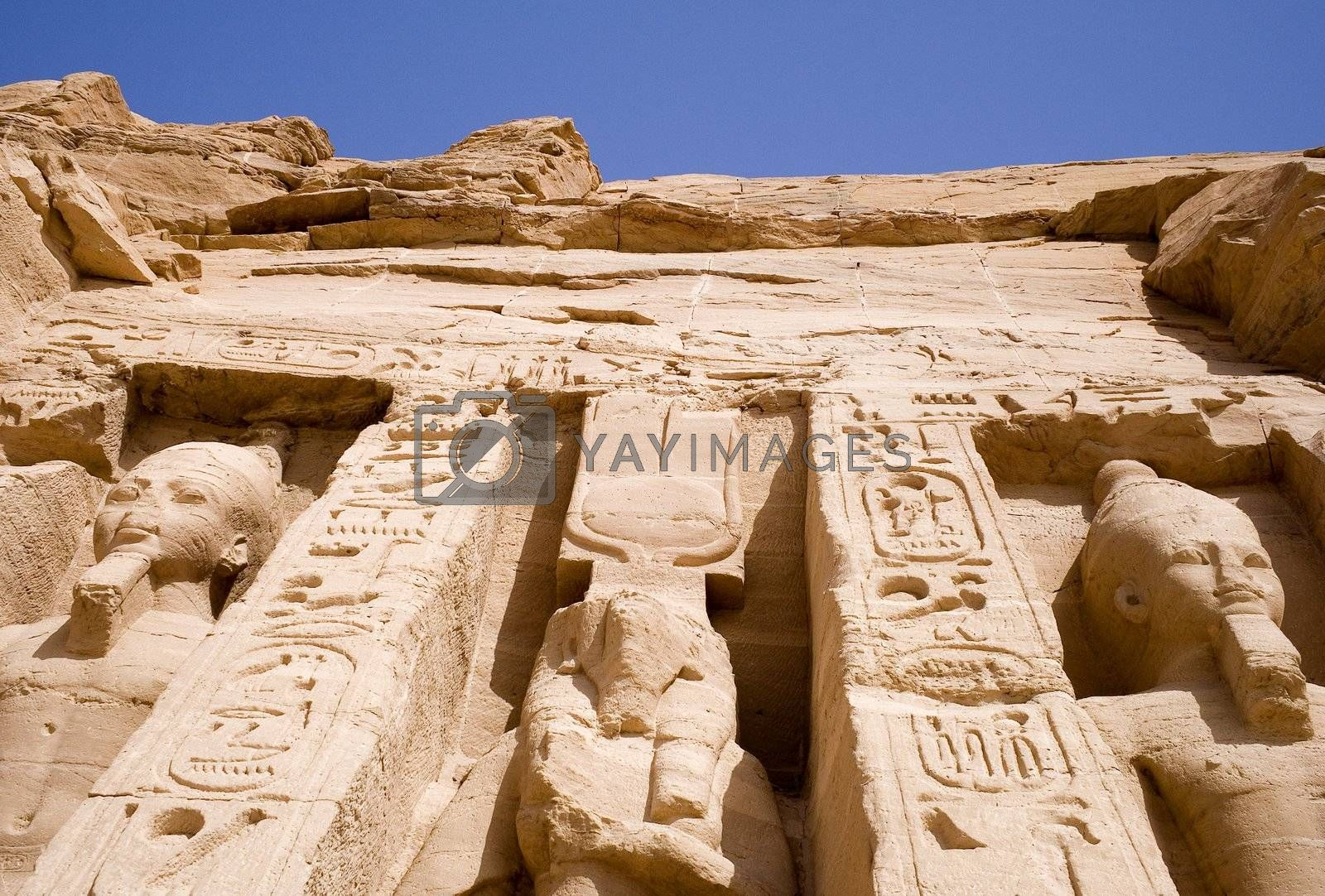 Royalty free image of The Great Temple of Abu Simbel by shariffc
