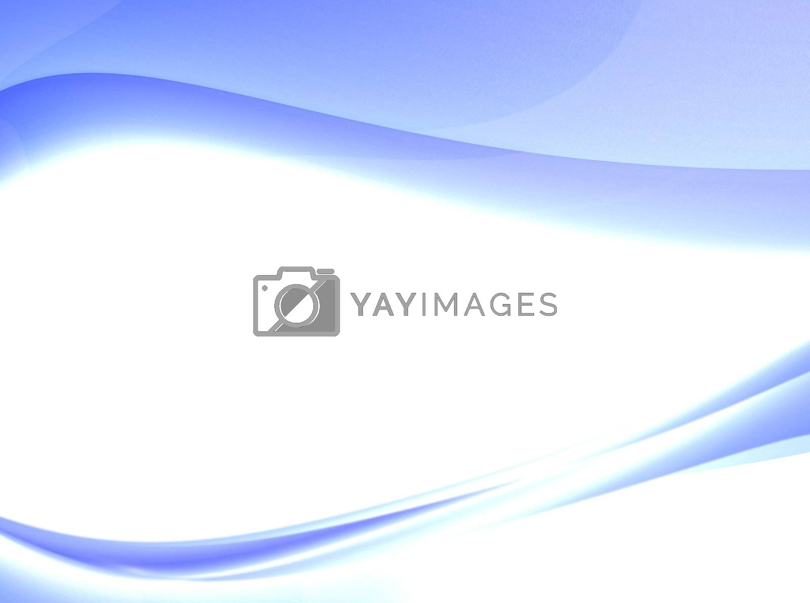 blue dynamic background with waves. abstract design