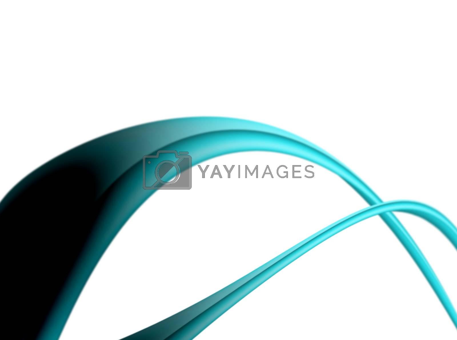 blue waves on white background. abstrcat illustration