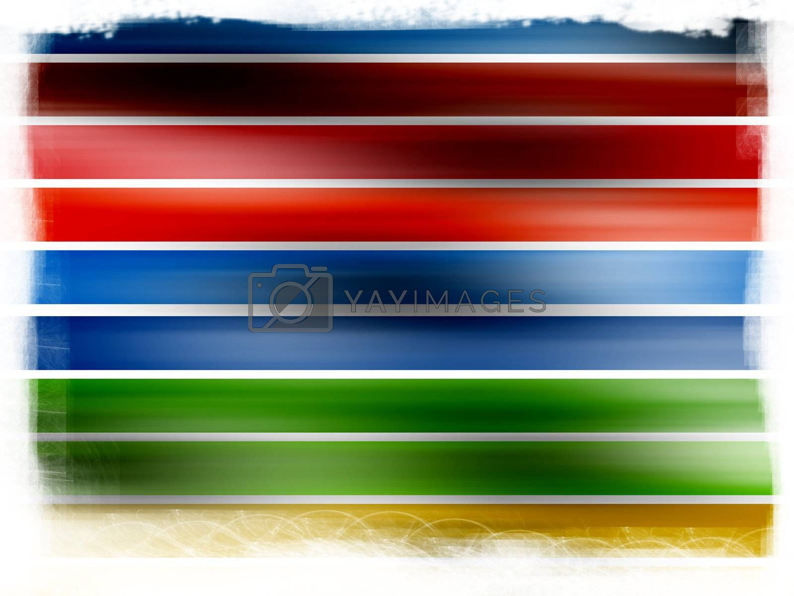 lines on red, blue, yellow and green colors, dynamic effect