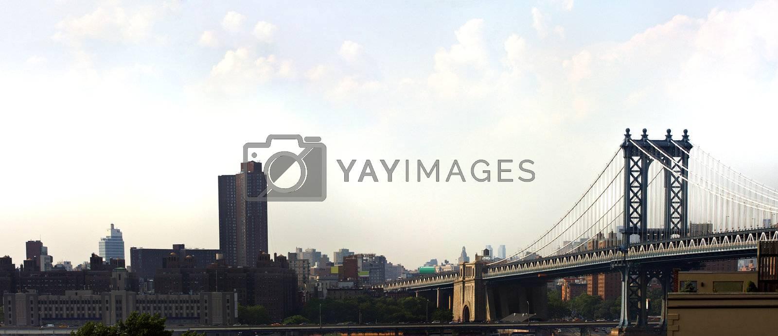 Manhattan Bridge by graficallyminded