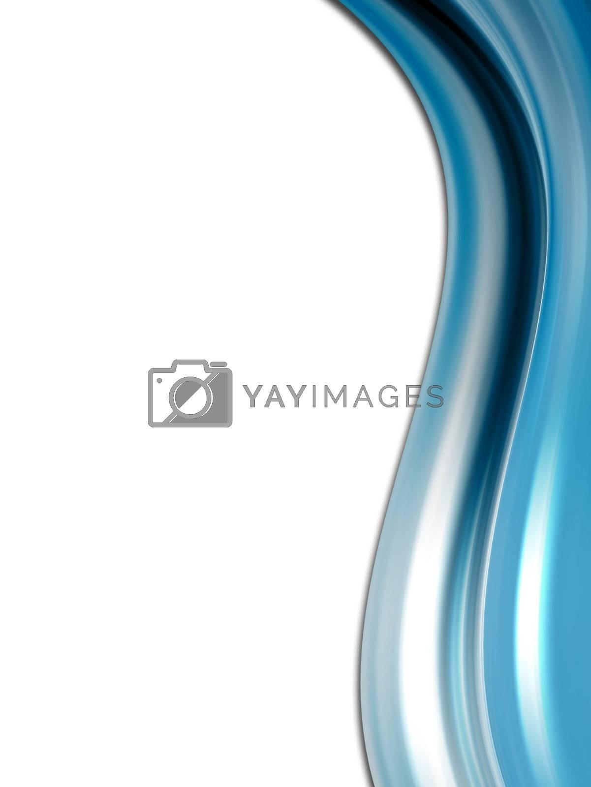 blue conceptual background, movement waves