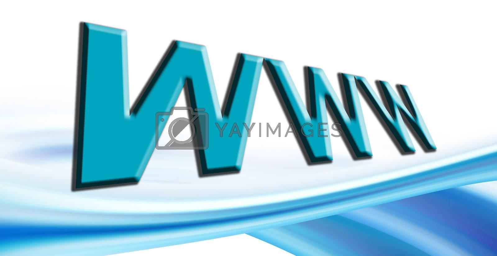 internet text on white background