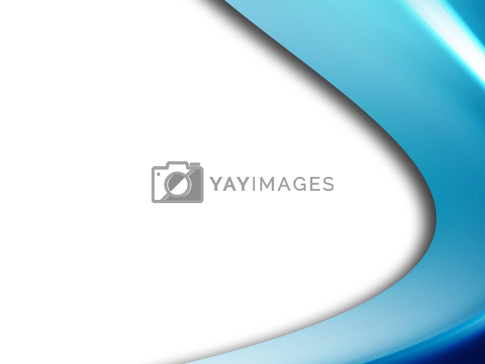 blue dynamic wave, conceptual design