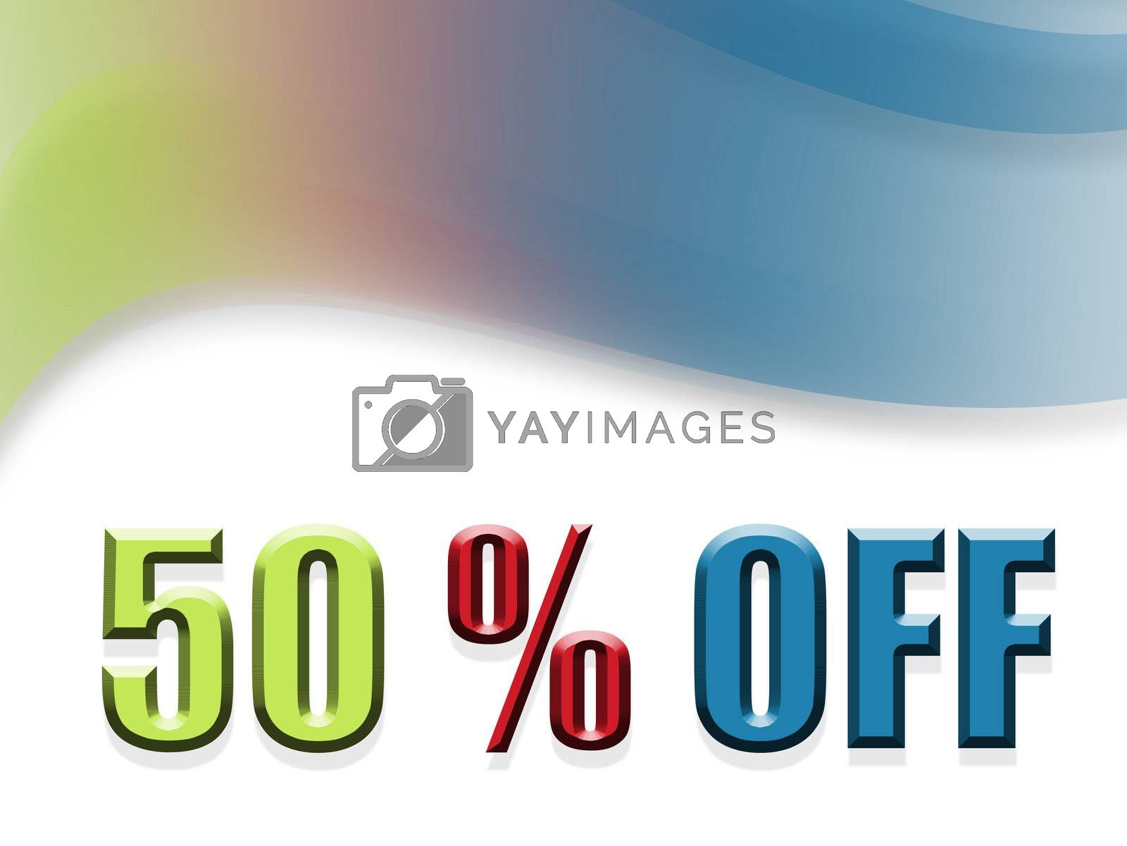 green red and blue discount design
