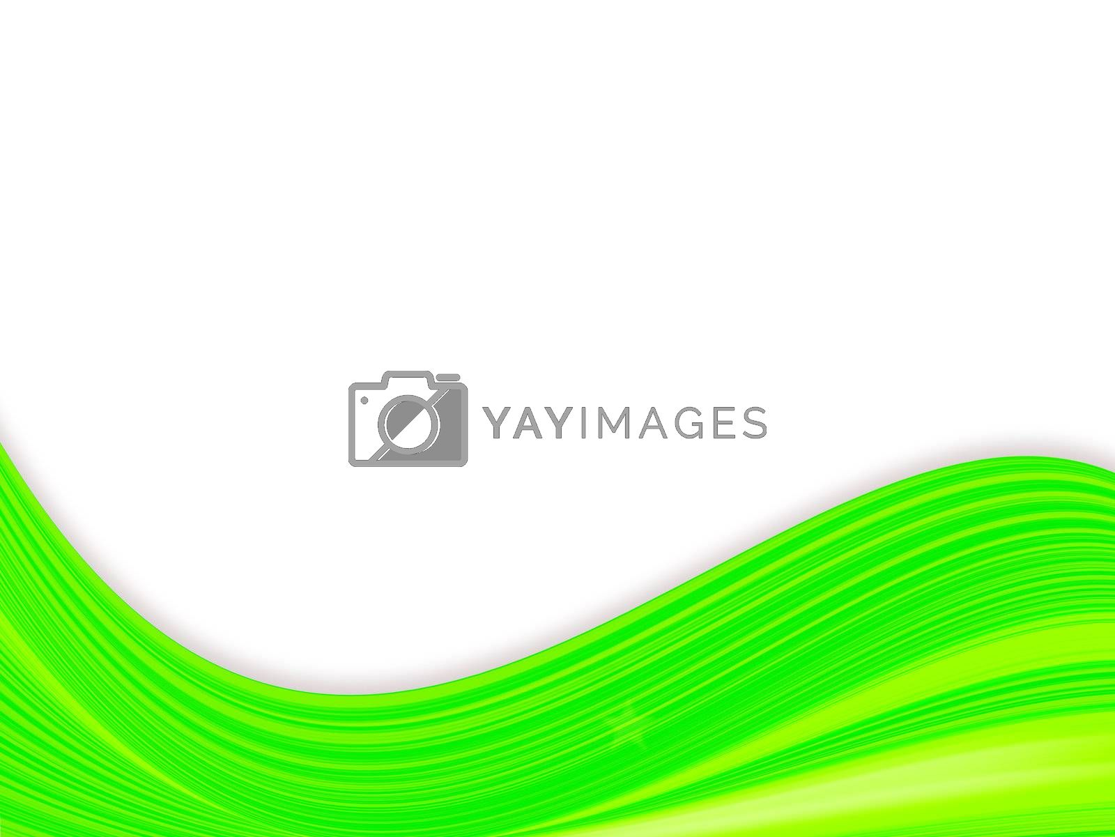 green backgound waves with texture.illustration design