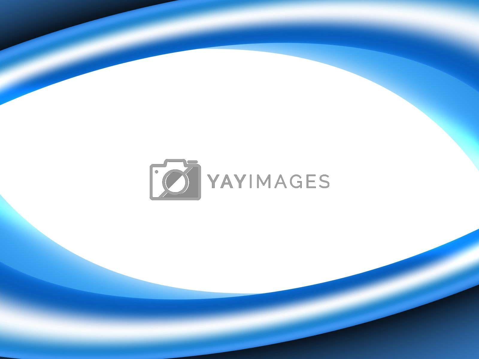 presentation, space, blue waves