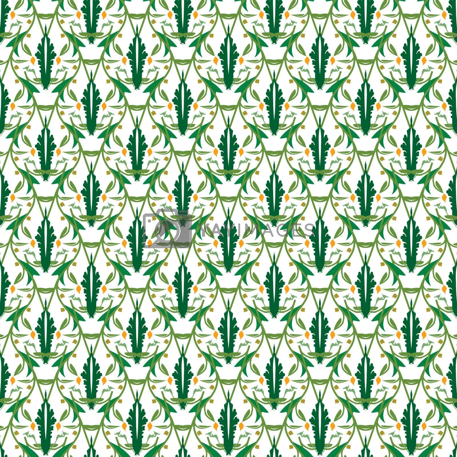 Royalty free image of Mosaic seamless pattern by homydesign